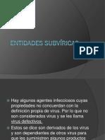 Entidades subViricas
