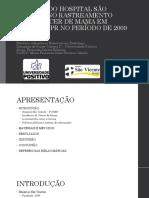 Impacto do Hospital São Vicente no screening mamográfico em Curitiba