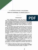 o Protestantismo Brasileiro - Estudo de eclesiologia e de história, social.pdf