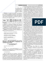 (01) RESOLUCION MINISTERIAL N° 238-2017-PCM - Autorizan viaje de Presidente del Consejo Directivo del INDECOPI a Argentina en comisión de servicios