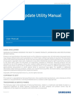 Samsung SSD NVMe Firmware Update Utility User Manual