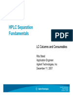 HPLC Separation Fundamentals