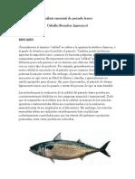 Análisis Sensorial de Pescado Fresco
