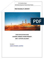 Adani - Mundra coal power plant prefeasibility report