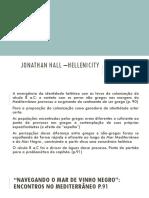 Jonathan Hall –Hellenicity