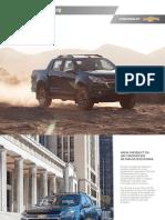 2016-Catalogo Nueva Chevrolet s10
