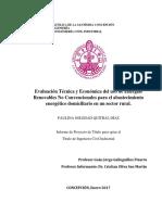 Estudio tecnico economico ERNC