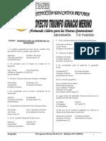Modulo Geografía