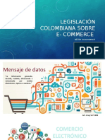 Legislación Colombiana Sobre e Commerce