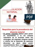 Desvinculacion Notarial