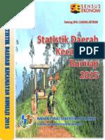 Statistik Daerah Kecamatan Bumiaji 2015
