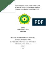 Penerapan Regresi Berganda Metode Principal Component Analysis 2
