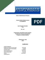 Taller de Valor Agregado PDF