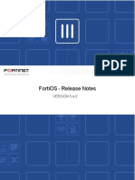 Fortios 5.4.0 Release Notes