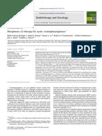 Radio thérapie & Oncology_Barriger, 2011
