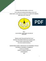 Laporan Praktik Kerja Lapangan (PKL)