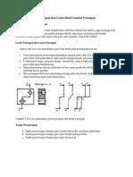 Aturan Tanda Pemotongan Dan Letak Hasil Gambar Potongan