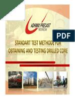 Petunjuk Pelaksanaan Core Drill