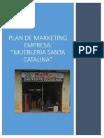 Plan de Marketing Muebleria Santa Catalina