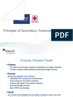 Principles of Secondary Treatment