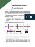 informe espectroscopia aplicada
