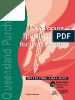 Queensland SpecDev Handbook