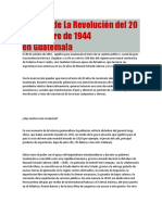 Historia de La Revolución Tema 6