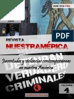 """Revista nuestrAmérica n° 8, volumen 4 """"Juventudes y violencias contemporáneas en nuestra América"""""""