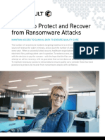 4 Ways Protect and Recover From Ransomware Attacks