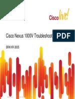 Cisco Live - Cisco Nexus 1000V Troubleshooting