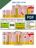 Calendar Scolar 20172018paulaoproiu
