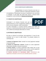 Formas de Amortização Empresarial