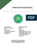 Rps Kimia Organik II