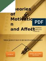 Psikologi Penelitian (Teori Motivasi)