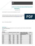 Educational Services Schools General Staff Award Ma000076 Pay Guide