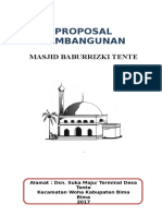 Proposal Masjid Nurul Huda
