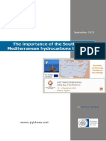 The Importance of the Southeastern Mediterranean Hydrocarbons to the EU