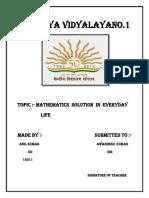 Anil Maths File