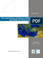 The Economic and Geopolitical Importance of the Eastern Mediterranean Gas Fields for Greece and the EU