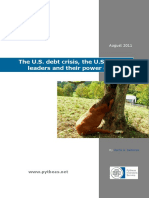 The US Debt Crisis, The US and EU Leaders and Their Power Games