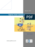 Cyprus Must Change or Suffer!