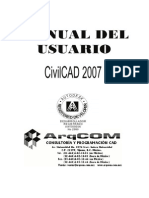 Manual de Usuario CivilCAD 2007