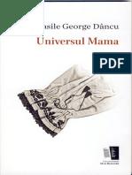 Dancu Universul Mama Poezii