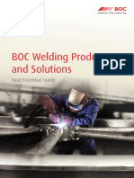 BOC Welding Products & Solutions - Essential Guide
