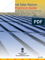 Best Practices Guide on State Level Solar Rooftop Photovoltaic Programs