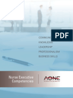 AONE Nursing Competencies