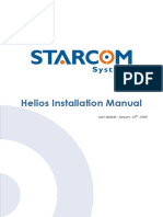 Manual Heliosinstallation