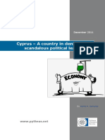 Cyprus – A Country in Denial and a Scandalous Political Leadership