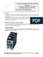 SIP-SOP03-R0-2017 SOP Temperature Transmitter Calibration