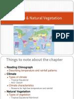 Climate _ Natural Vegetation - Tropical